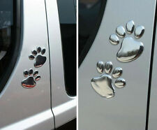 Hot sale 3D Car Window Bumper Body Paw Decal Sticker Bear Dog Animal Foot Prints