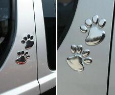 Hotsale 3D Car Window Bumper Body Decal Sticker Bear Dog Animal Paw Foot Prints