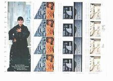 Us #3379-3383 Mnh, Sculptor-Louise Nevelson Sheet, Fv $6.60 (2000)