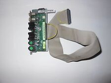 Dell Precision 390 front power audio USB panel FK463 / FJ470 with FK201 cable