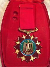 Libya Arab Jamahiriya Order of Courage and Bravery Chest Badge Medal Qaddafi