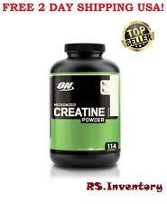 NEU Optimum Nutrition Creatin Powder unflavored 600g Micronized Monohydrat
