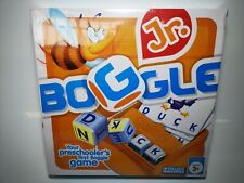 Boggle Jr Kids Childrens Puzzle Learning Board Game Ages 3+ Preschoolers