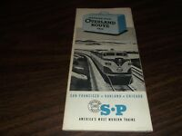 MAY 1951 SOUTHERN PACIFIC PLANNING YOUR OVERLAND ROUTE TRIP BOOKLET