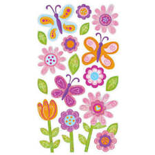SPVC26 Sticko Stickers-Small Fanciful Flowers