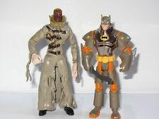 """DC BATMAN 5"""" Toy Figure Set  BATMAN vs SCARECROW"""