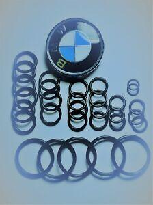 BMW Cooling System O-Ring Kit Set E46 316 318 320 323 325 328 330  M52 M54 S54