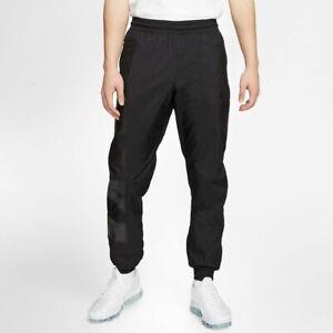 Nike Men's Black Woven Shell Trackpants Joggers CT2532-019 BNWT Size Medium