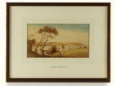 1840 Falmouth Harbour Watercolour by J G Philp