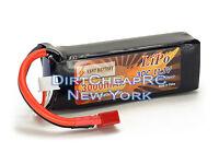 11.1V 3000mAh 30C 3S LiPo Battery Pack w/ Deans T-Plug Heli Drone EFLB30003S30