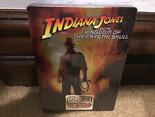 Indiana Jones and the Kingdom of the Crystal Skull 2-Disc Steelbook DVD NEW OOP
