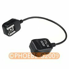 i-TTL Off Camera FLASH sync Cord for Nikon D7100 D7000 D5200 D3200 SB 910 900