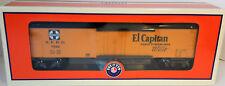 LIONEL O Gauge 'ATSF Road Map Car' EL CAPITAN Item #6-25936