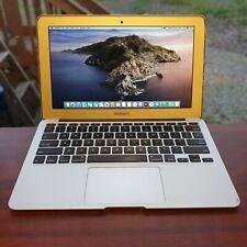 """Apple MacBook Air 11"""" Core i5-4250U 4GB RAM 128GB SSD Mid 2013 A1465 Catalina"""