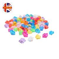 Aquarium Ornament Decorative Crystal Stones, 100 Pieces, Random Colour