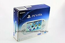 Sony PlayStation Vita Launch Edition 1GB Light Blue & White Handheld System Used