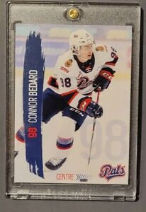 Connor Bedard Mint 2020-21 Regina Pats 1st Card Rookie 🔥🔥 Top Prospect WHL