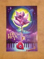 Alicia Keys Poster Fillmore Offset Glenn Lewis FDN12 ORIG Bill Graham A. Zawacki