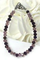 Pretty in Purple ! Medical ID Alert Replacement Bracelet!  (MA100)