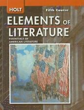 Holt Elements of Literature, Fifth Course Grade 11 by Lee Odell and Kylene Beer…
