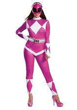 Women's Power Rangers Pink Ranger Costume Size S XL (Used)