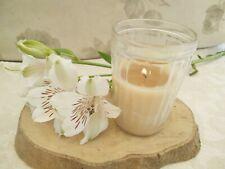 Organic Beeswax Handmade Candle, non toxic, Lavendar Geranium aromatherapy