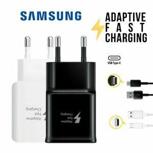 Original Samsung Galaxy S8 S9 S10 Schnell Ladegerät USB C Ladekabel Netzteil 2A