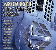 ARLEN ROTH w JOHNNY WINTER, VITO, LANDRETH New SLIDE GUITAR SUMMIT CD