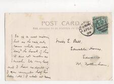 Miss E Bell Edwalton House Edwalton Nottingham 1904 131b