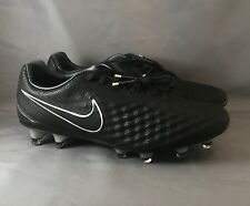 Nike Magista Opus II TC FG Tech Craft Soccer Cleats Black Size 8 852505-001 b66cc730d