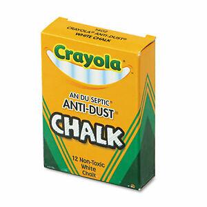 Chalk,Anti-Dust,12/Bx,Wht 50-1402  - 1 Each