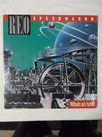 REO Speedwagon Wheels Are Turnin' [LP] Album Used 1984 Epic VG/VG+ QE 39593