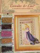 Lavender & Lace Counted Cross Stitch Pattern Chart Celtic Spring #50