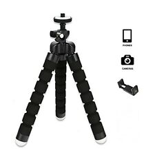 Octopus Mini Flexible Stand Tripod Mount + Free Holder For Smart Phone iPhone