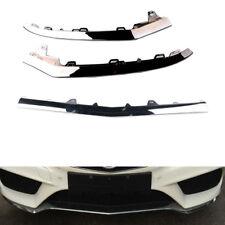 QTY3 For Mercedes-Benz W212 E350 E400 Front Bumper Lower Chrome Trim