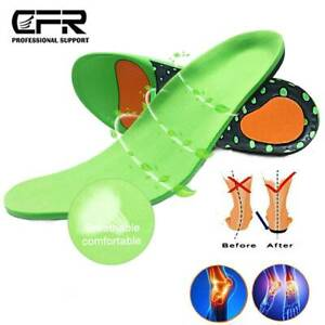 Plantar Fasciitis Orthotics Insoles Inserts Arch Support Flat Feet High Pain Pad