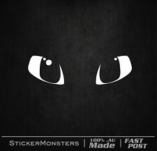 TOOTHLESS EYES HOW TO TRAIN YOUR DRAGON  Sticker Decal 200mmW Car  iPad macbook