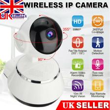 HD 1080P Wireless WIFI IP CCTV Camera Smart Home Security Night Vision Indoor UK