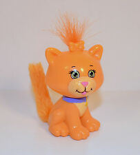 "2.25"" Orange Kitty Cat Cabbage Patch Kids Lil Sprouts Pet Day Care PVC Figure"