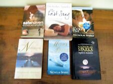 ~NICHOLAS SPARKS x 6 - THE NOTEBOOK, SAFE HAVEN, THE LAST SONG + 3-ALL GC~