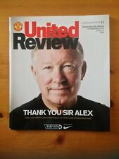 More details for manchester united v swansea city (alex ferguson last home game)(12/05/2013)