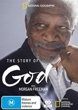 The Story Of God With Morgan Freeman DVD : NEW