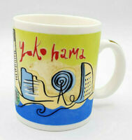 "Vintage 1999 Original Starbucks Collectible Travel Series Mug ""Yokohama"" 12oz"
