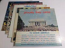 Lot Of 5 American Theme LP Wholesale Vinyl Record