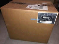 2014 LEAF AUTOGRAPHED FOOTBALL JERSEY 6 BOX SEALED CASE: TOM BRADY/WALTER PAYTON