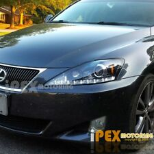 2006-2010 Lexus IS250 LED Signals Projector JDM Black Headlights Headlamps