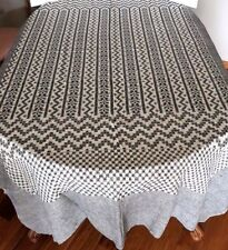"""TABLECLOTH - BED COVER 60 X 90"""" - 100% COTTON - HAND WOVEN"""