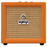 Orange Amps Crush Mini Combo Guitar Micro Amplifier 9V Battery-Powered 3W 8-ohm