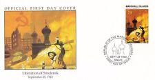 W62 1-1 Isole Marshall FDC COVER 1993 LIBERAZIONE DI SMOLENSK 1943
