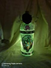 nightmare before chritmas light upcycled  bottle with LED  Lights
